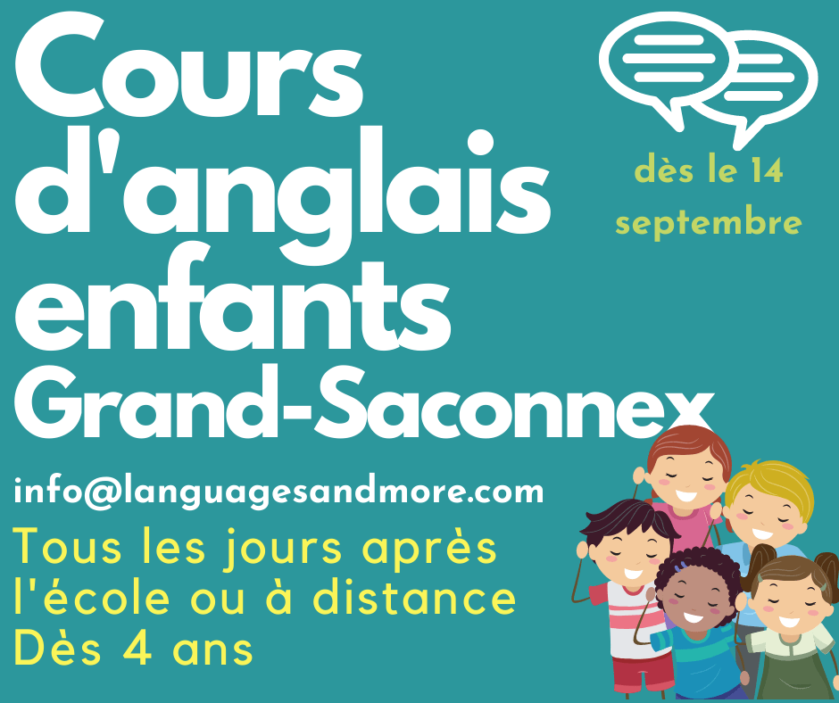 cours d'anglais enfants au Grand-Saconnex