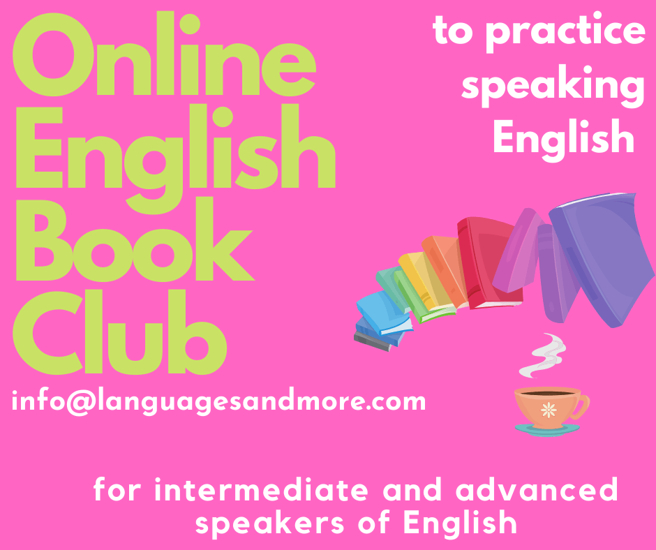 English Book Club for non-native speakers of English