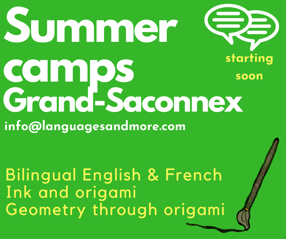 bilingual summer camps, geometry through origami
