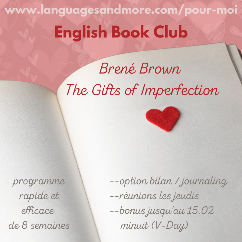 English Book Club pour non-anglophones, Brené Brown